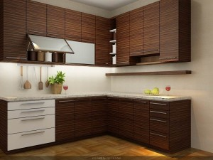 Desain Interior Kitchen Set Minimalis